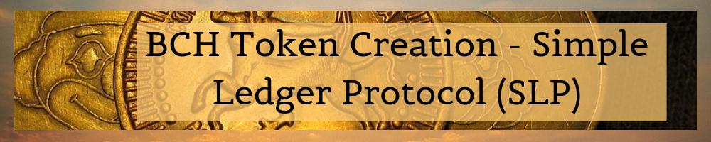 SLP Token – Minting baton, Badger wallet, Bitcoin Cash